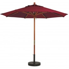 7' Market Umbrella Burgundy