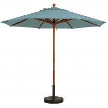 7' Market Umbrella Spa Blue