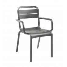 Cannes Armchair Charcoal