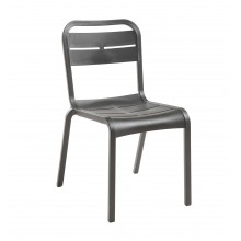 Cannes Sidechair Charcoal