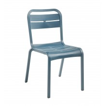 Cannes Sidechair Mineral Blue