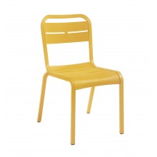 Cannes Sidechair Yellow