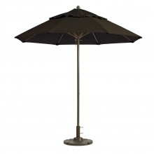 Windmaster 9ft Umbrella Charcoal Gray