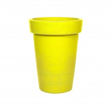 Crowd Control Dalao planter D16 safety yellow