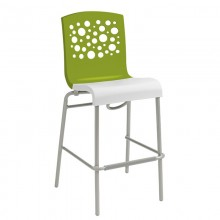 Tempo Stacking Barstool Fern Green