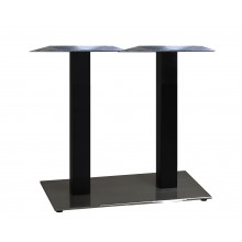 "Gamma Base Dining Height Lateral 16""x28"" Black"