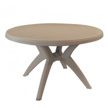 "Ibiza 46"" Round Table French Taupe"