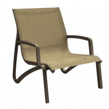 Sunset Lounge Chair Cognac/Fusion Bronze