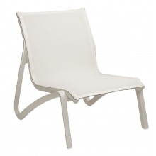 Sunset Lounge Chair White/Glacier White