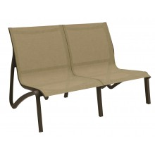 Sunset Love Seat Cognac/Fusion Bronze