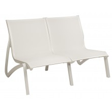 Sunset Love Seat White/Glacier White