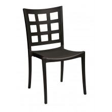 Plazza Sidechair Black/Black