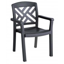 Sanibel Classic Armchair Charcoal