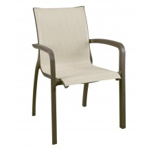 Sunset Stacking Armchair Beige/Fusion Bronze