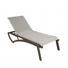 Sunset Chaise Lounge Beige/Fusion Bronze