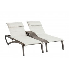 Sunset Comfort Duo Chaise Beige/Fusion Bronze
