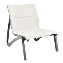 Sunset Comfort Lounge Chair Beige/Volcanic Black