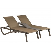 Sunset Duo Chaise Cognac/Fusion Bronze