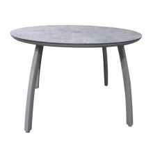 "42"" Round Sunset Table Platinum Gray"