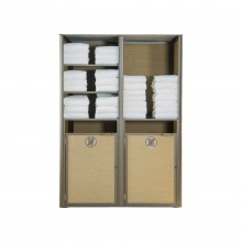 Sunset Towel Valet Double Unit Cognac/Fusion Bronze