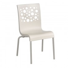 Tempo Stacking Chair White
