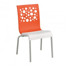 Tempo Stacking Chair Orange