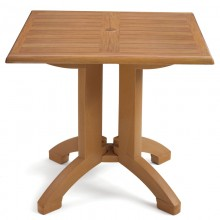 "Atlanta 36"" Square Table Teak Decor"