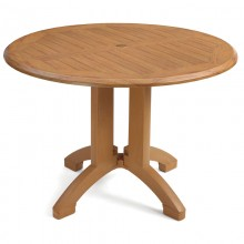 "Atlanta 42"" round Table Teak Decor"