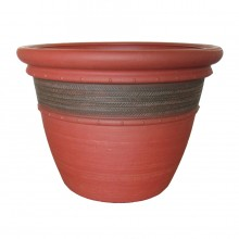 "16"" Cordoba Planter Red Clay"