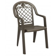 Savannah Stacking Armchair Bronze