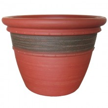 "23"" Cordoba Planter Red Clay"