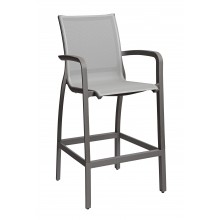 Sunset Barstool Solid Gray/Volcanic Black