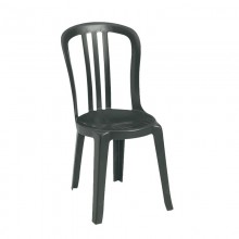 Miami Bistro Sidechair Charcoal