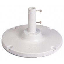 35 lb. Table Umbrella Base White