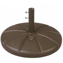 Resin Umbrella Base with Filling Cap Bronze