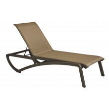 Sunset Chaise Lounge Cognac/Fusion Bronze