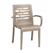 Essenza Stacking Armchair Taupe