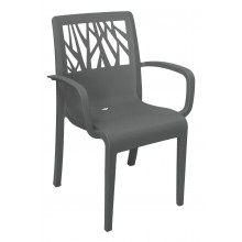 Vegetal Armchair Charcoal