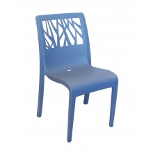 Vegetal Sidechair Denim Blue