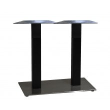 "Beta Lateral Base 16""x28"" Black Column/Black Base"