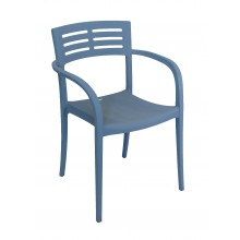 Vogue Armchair Denim Blue