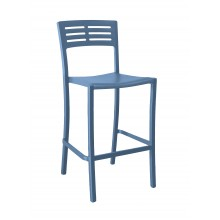 Vogue Barstool Denim Blue