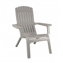 Westport Adirondack Chair Barn Gray
