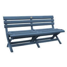 Westport Bench Barn Blue
