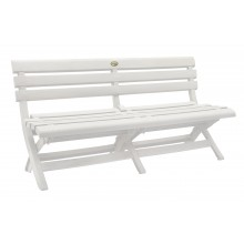 Westport Bench White