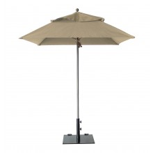 Windmaster 6.5ft Square Umbrella Khaki