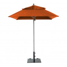 Windmaster 6.5ft Square Umbrella Orange