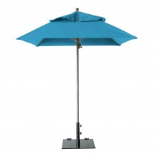 Windmaster 6.5ft Square Umbrella Sky Blue