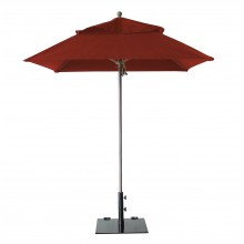 Windmaster 6.5ft Square Umbrella Terra Cotta